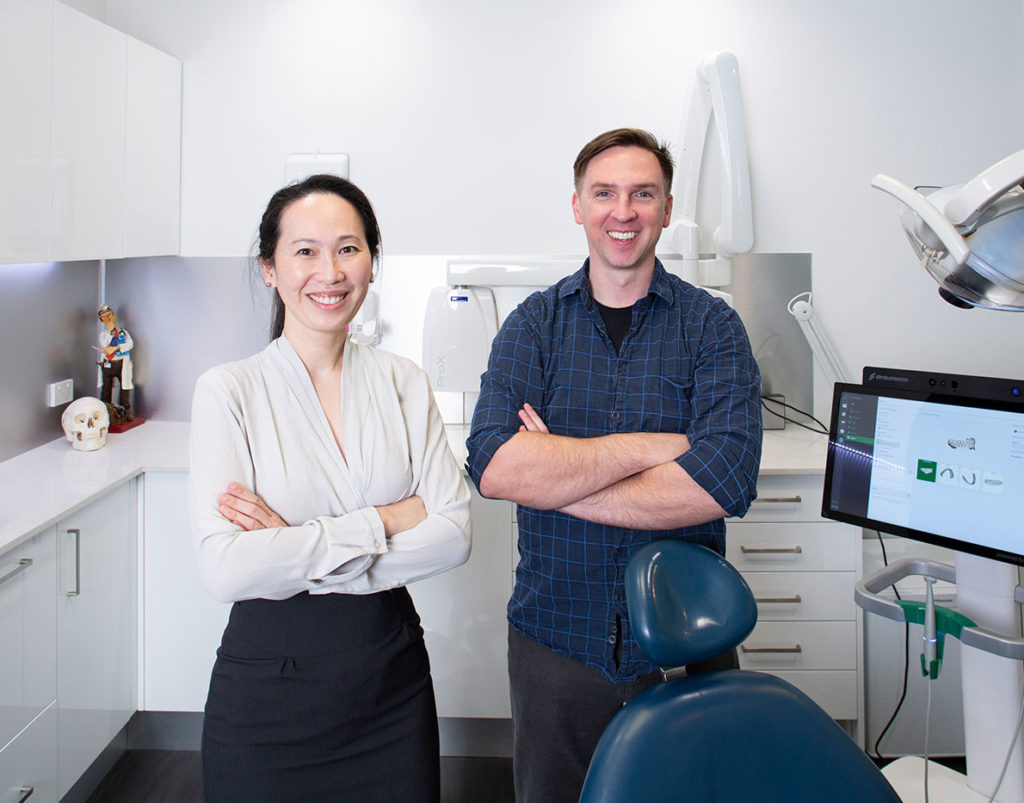 Dr. Chou and Dr. Willis